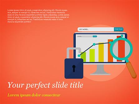 Website Analysts Presentation Template, Master Slide