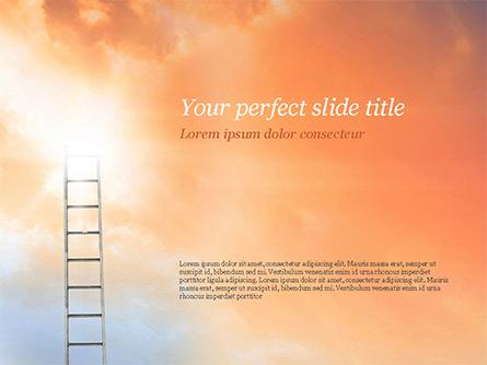 Ladder to The Sky Presentation Template, Master Slide