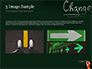 Blackboard Concept for The Word Change slide 12