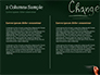 Blackboard Concept for The Word Change slide 5