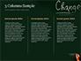 Blackboard Concept for The Word Change slide 6