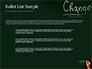 Blackboard Concept for The Word Change slide 7