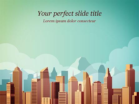 Metropolitan Area Presentation Template, Master Slide