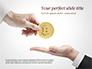Hand Giving Bitcoin slide 1