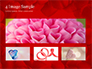 Beautiful Heart of Red Rose Petals slide 13