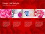 Beautiful Heart of Red Rose Petals slide 16