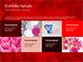 Beautiful Heart of Red Rose Petals slide 17