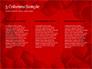 Beautiful Heart of Red Rose Petals slide 6