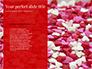 Beautiful Heart of Red Rose Petals slide 9
