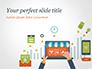 Online Shopping and Management Concept slide 1