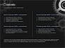 Metal Realistic Cogwheels slide 2