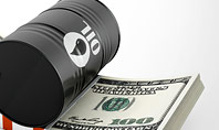 Barrel of Oil on Dollars Pack Presentation Template