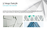 White Polygonal Geometric Background slide 12