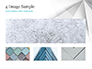 White Polygonal Geometric Background slide 13