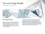 White Polygonal Geometric Background slide 14