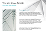 White Polygonal Geometric Background slide 15