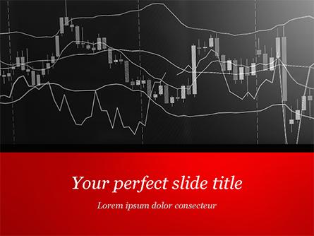 Candle Stick Graph Chart Presentation Template, Master Slide