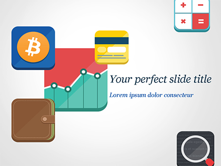 Cryptocurrency Exchange Presentation Template, Master Slide