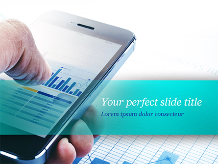 Mobile Trading Presentation Template, Master Slide