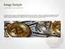 Gold Coin with Bitcoin Sign slide 10