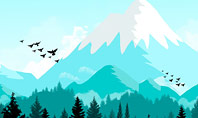 Mountain Forest Presentation Template