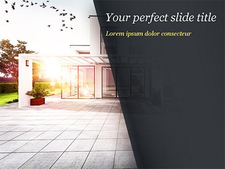 Stylish Modern Home Presentation Template, Master Slide