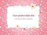 Pink Greeting Card slide 1