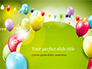 Colorful Balloons and Garlands slide 1