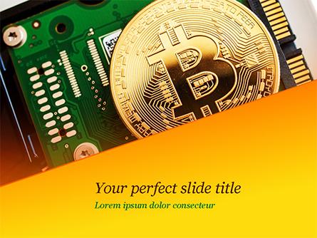 Bitcoin Mining Presentation Template, Master Slide