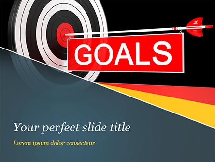 Goals Presentation Template, Master Slide