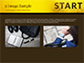 Businessman Standing in Start Position slide 11