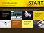 Businessman Standing in Start Position slide 17