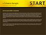 Businessman Standing in Start Position slide 4