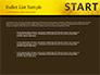 Businessman Standing in Start Position slide 7