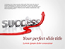 Concept of success and 3D Man slide 1