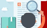 Information Search Illustration Presentation Template