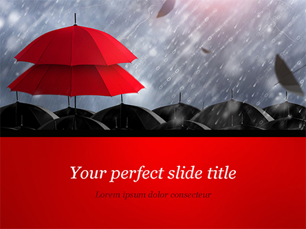 Insurance Concept Presentation Template, Master Slide