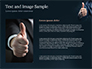 Man Shows Thumb Up slide 15
