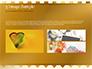 Background of Golden Hearts slide 12