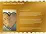 Background of Golden Hearts slide 15
