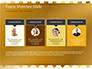 Background of Golden Hearts slide 18
