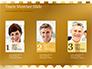 Background of Golden Hearts slide 19