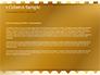 Background of Golden Hearts slide 4