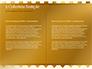Background of Golden Hearts slide 5
