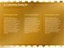 Background of Golden Hearts slide 6