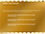 Background of Golden Hearts slide 7
