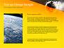 Dark Digital Globe slide 15