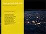 Dark Digital Globe slide 9