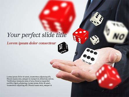 Gambling Concept Presentation Template, Master Slide