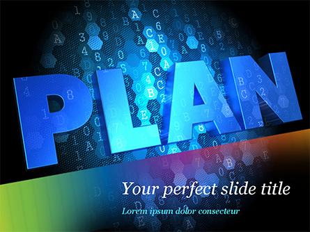 Blockchain Project Plan Presentation Template, Master Slide